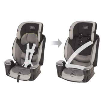 Evenflo-Maestro-Sport-Harness-Booster-Car-Seat