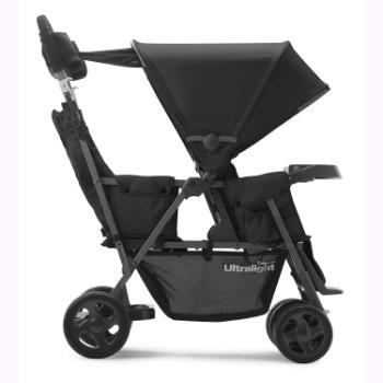 JOOVY-Caboose-Too-Ultralight-Graphite-Stand-On-Tandem-Stroller-Black