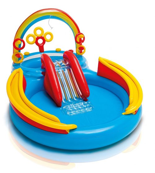 Intex Rainbow Ring Pool Play Center Pool Review