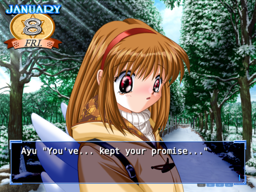 kanon visual novel