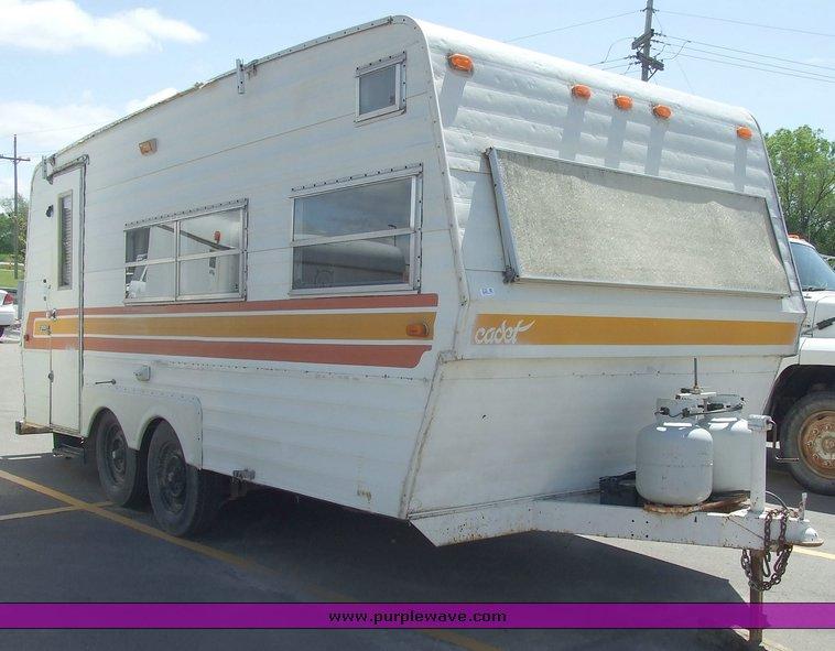 1979 Coachmen Cadet Travel Trailer Camper Item 2135