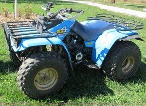 1987 Yamaha Moto 4 four wheeler ATV   Item E5587   SOLD! Wed