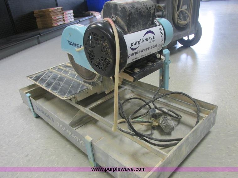 20 City of Industry central LA 213323 pic hide this posting restore restore this posting. 2006 Target Tilematic G2 Tile Saw Wet Saw In Channahon Il Item E7086 Sold Purple Wave