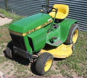 John Deere 214 lawn mower | Item AE9244 | SOLD! June 12
