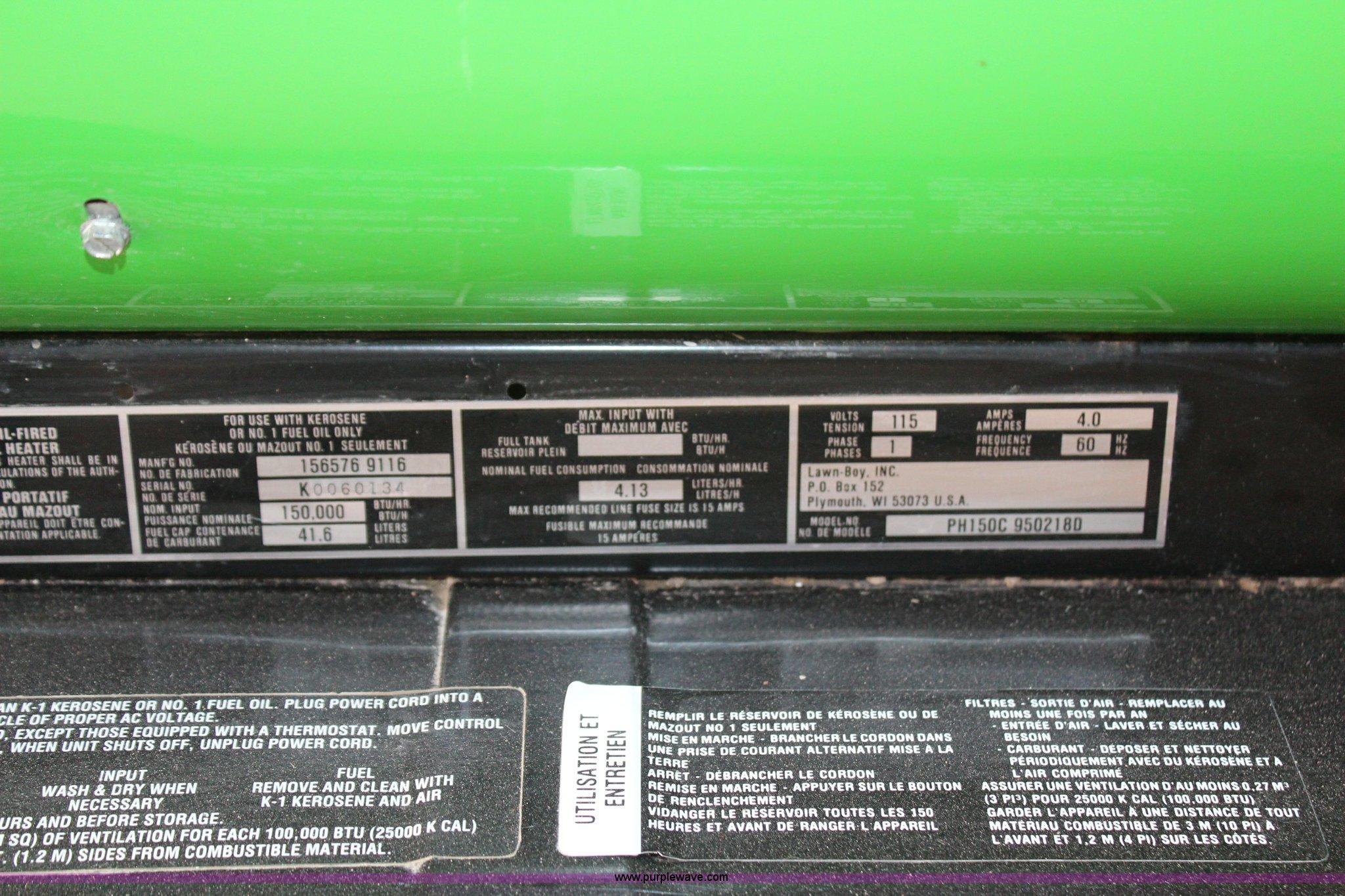 Porta Heat 150 Shop Heater In Kirwin Ks