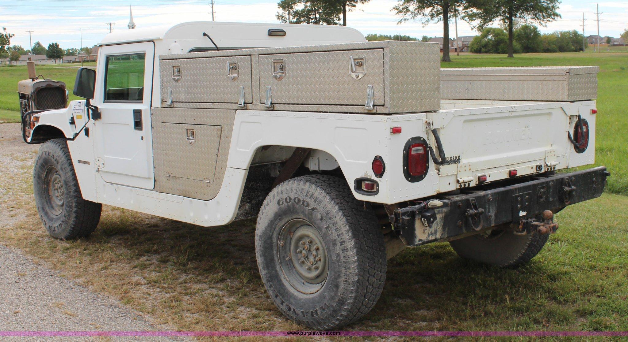 1995 Am General Hummer Recruit Item I5786