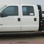2001 Ford F350 Super Duty Crew Cab Flatbed Truck In Farwell Tx Item H1595 Sold Purple Wave