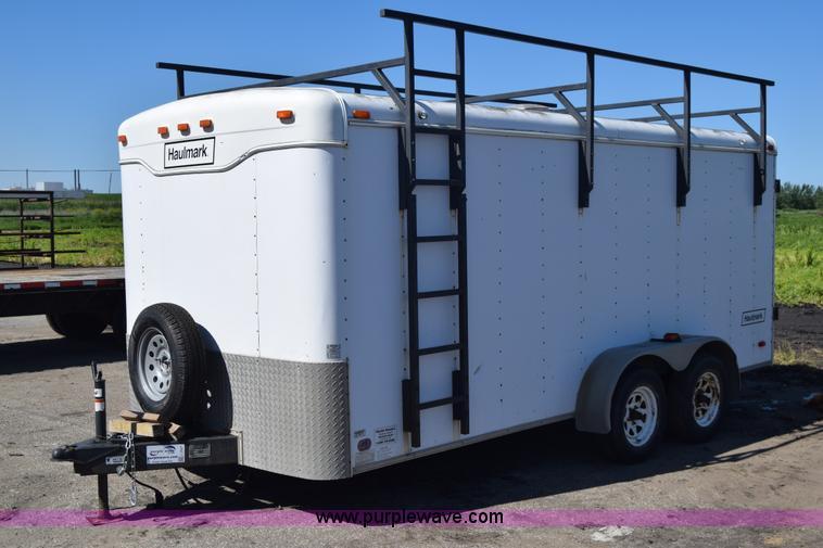 2000 haulmark k716bt wt enclosed cargo