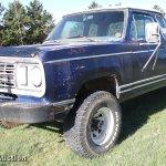1978 Dodge Power Wagon W200 Pickup Truck In Marienthal Ks Item Da6193 Sold Purple Wave