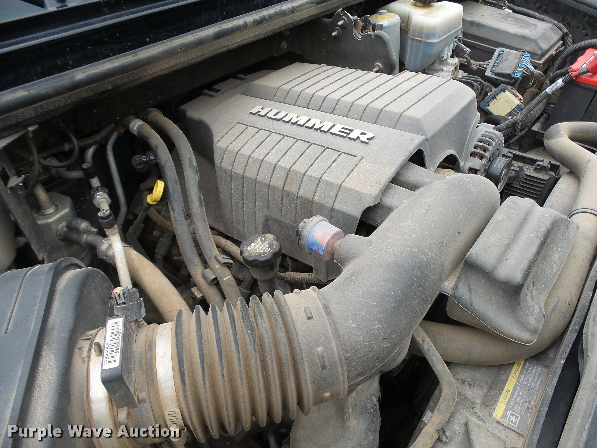 2008 Hummer H2 SUV Item DB2584