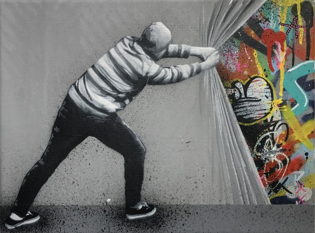 martin whatson behind the curtain artsy