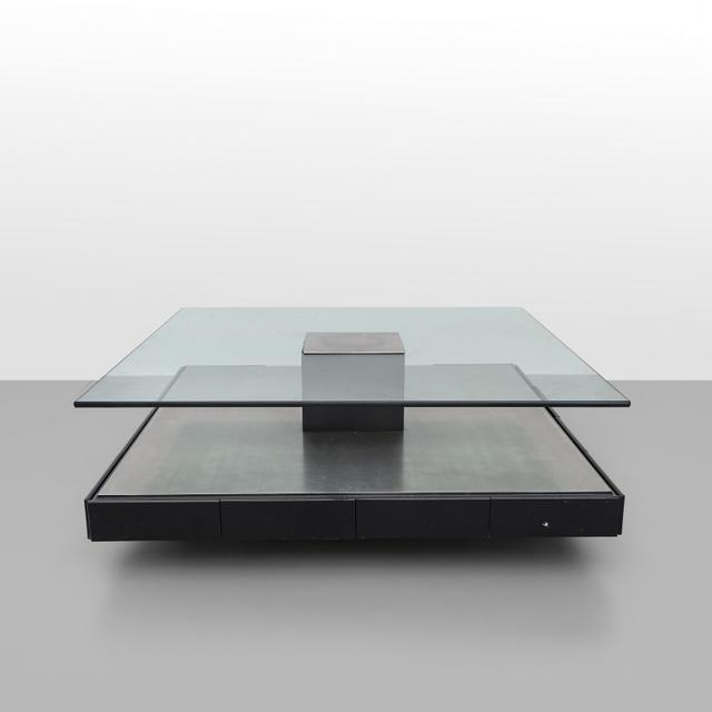 marco fantoni tecno a coffee table