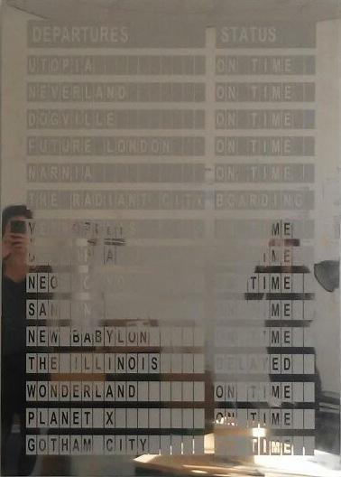 Utopia (2015) Salidas/Departures. Alicia Framis