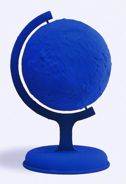 Yves Klein Globe Terrestre Bleu Blue Earth Rp 7 1957 Artsy