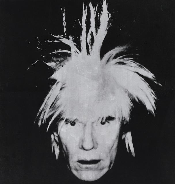 Andy Warhol Self Portrait 203 2 X 193 5 Cm 1986 Artsy