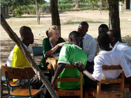 Visitng Africans