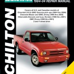 Chevrolet S10 Blazer 1994 1994 Chilton Haynes Manuals