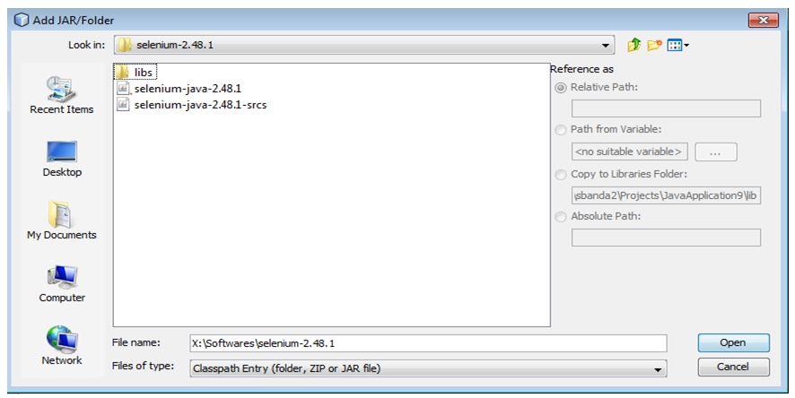 Selenium Framework for URL based API Testing