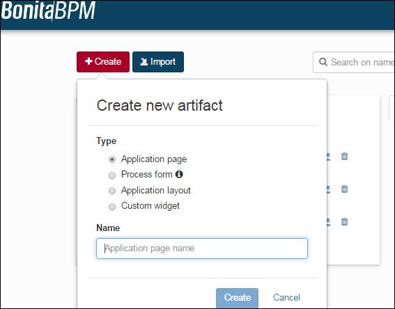 Custom Page Integration with Bonita BPM Process