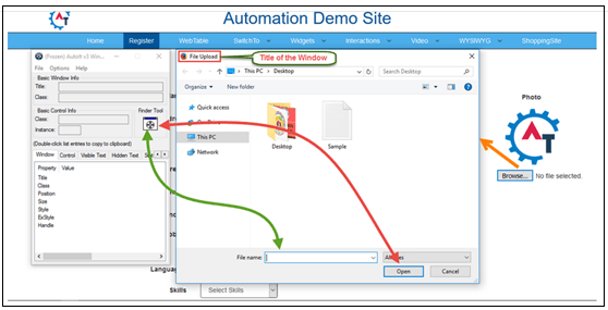 Automation Demo Site