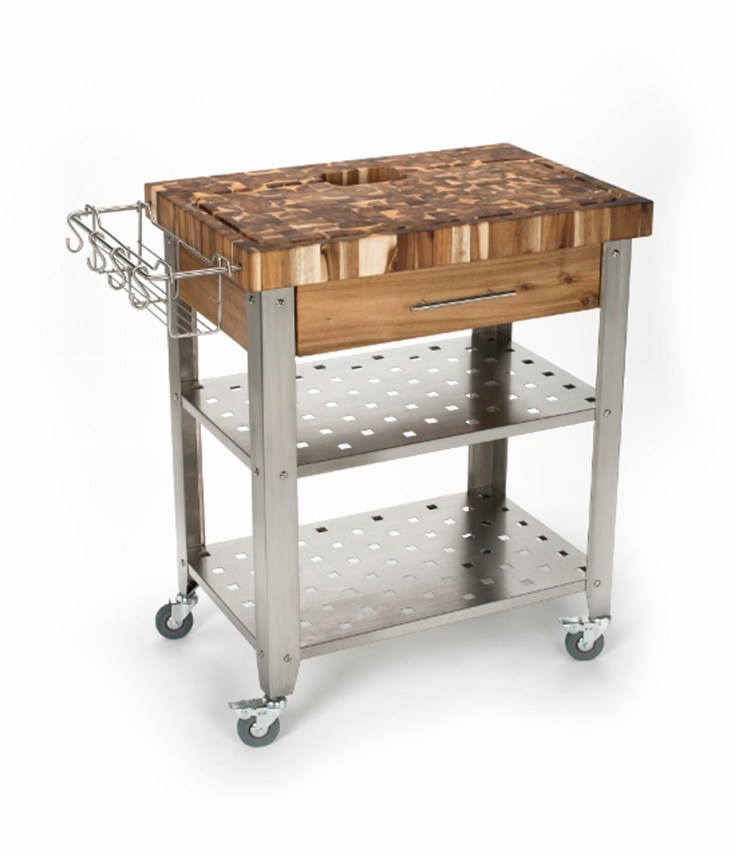 space-saving kitchen carts