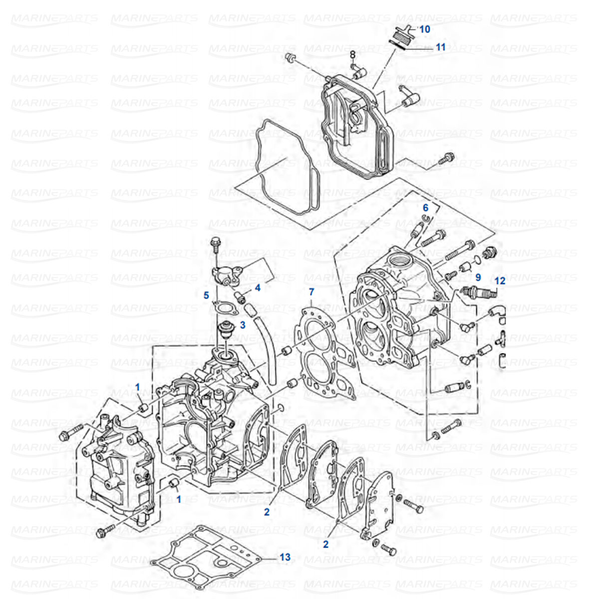 Yamaha Engine Parts For Outboard Motor Marineparts