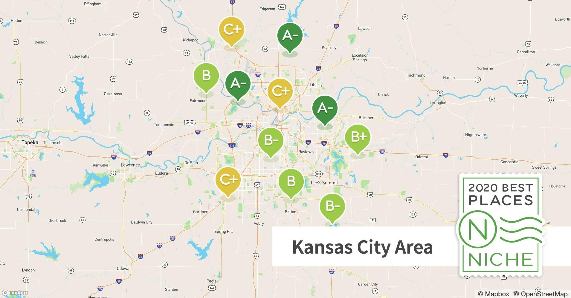 2020 Best Kansas City Area Suburbs To Live Niche