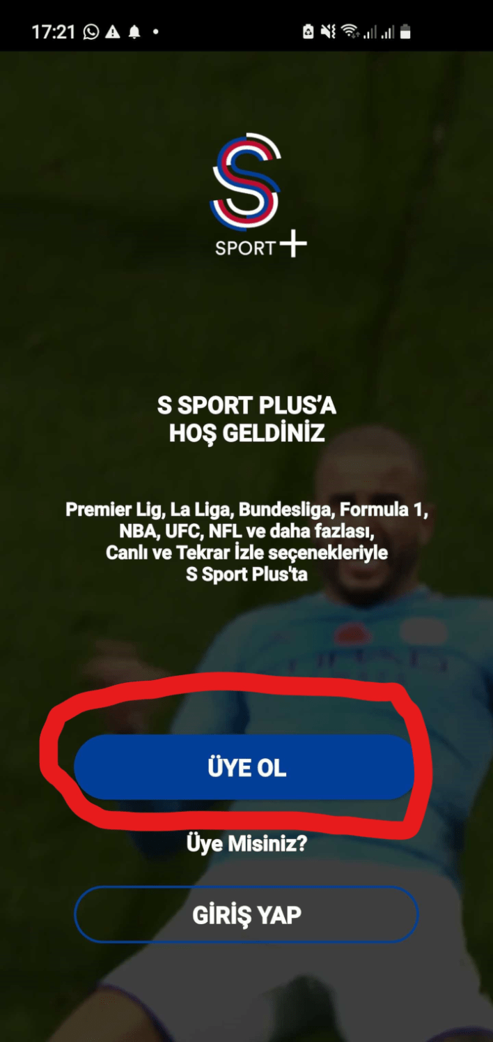 How to setup S Sports+ subscription
