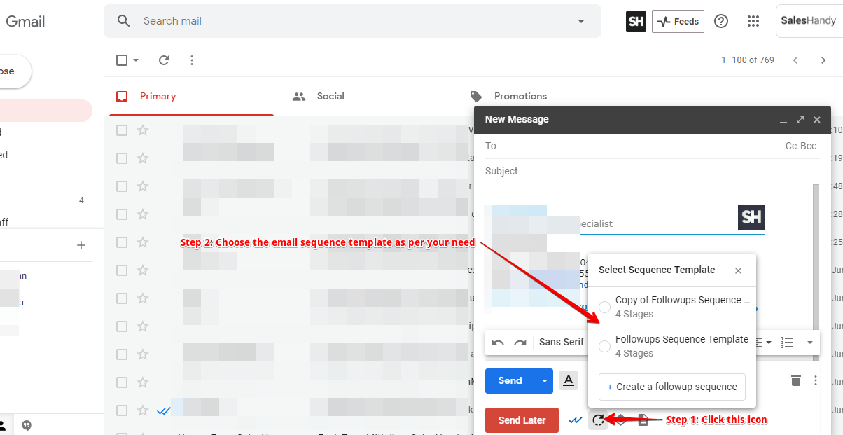 How To Create Individual Email Sequence Template For Gmail