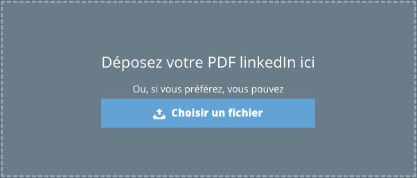 Importer Des Donnees De Linkedin Ou D Un Autre Cv Word Ou Pdf Pages D Aide