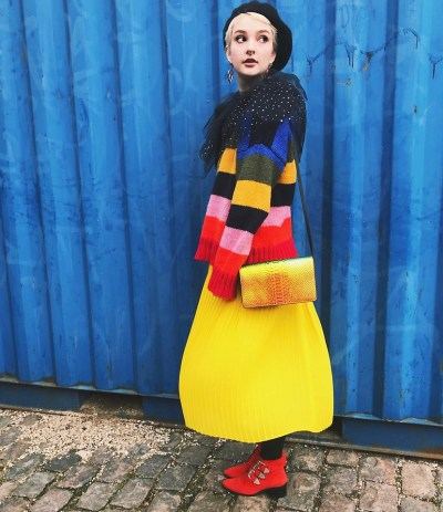 Fashionista NOW: How To Color Block Like A Rainbow?