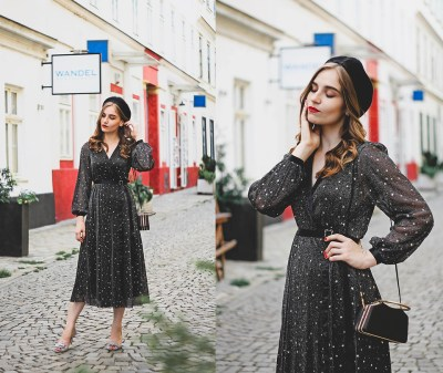 Fashionista NOW: The V-Neck Midi Dress Style Everyone And Their Grandmas Should Wear