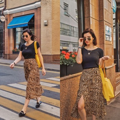 Fashionista NOW: How To Style Your Statement Leopard Print Skirt?