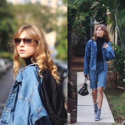 Fashionista NOW: Exciting Ways To Wear Double Denim In One Outfit