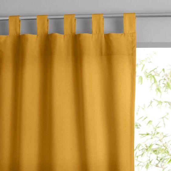 comment faire des rideaux a pattes