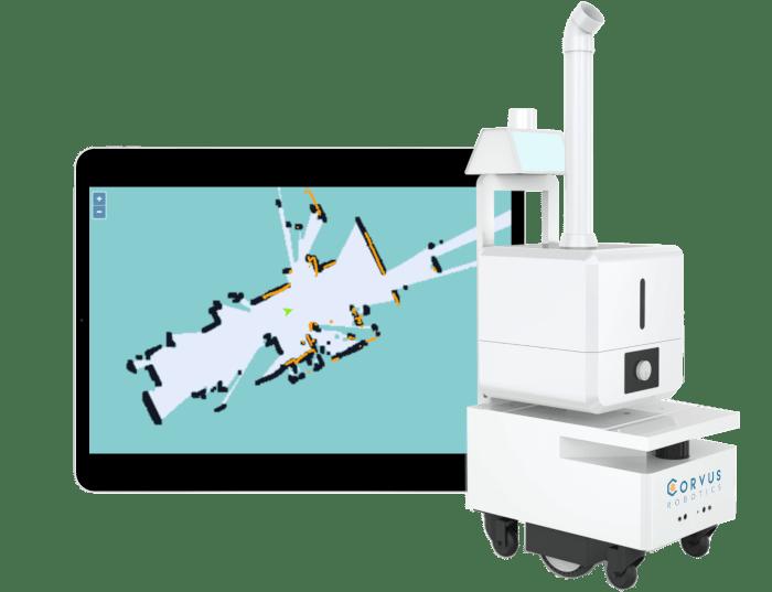 Corvis UV Robot