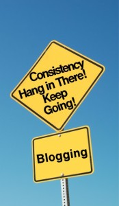 consistency-blogging