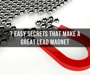 7 Easy Secrets That Make a Great Lead Magnet