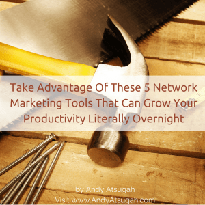 network marketing tools