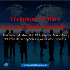 secret to network marketing sales