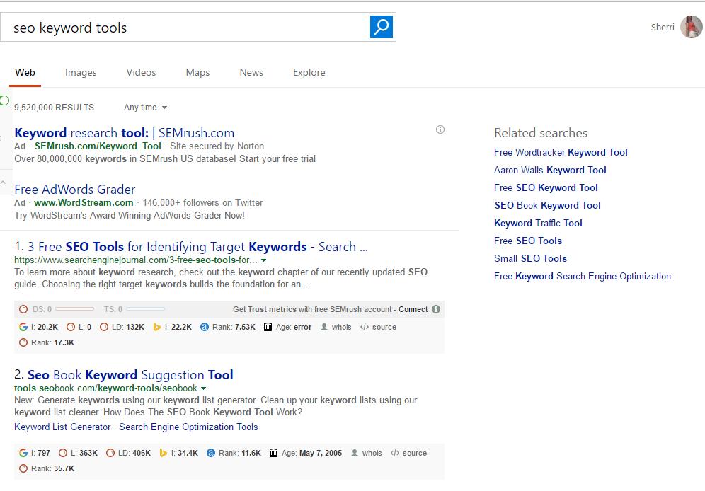 SEO Google Search Results