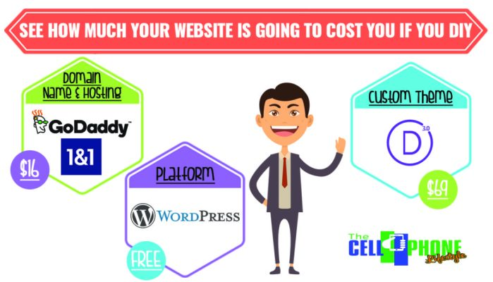 DIY Website Costs