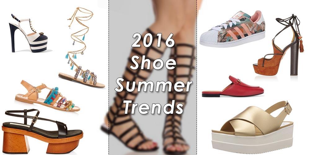 Shoe Trends Summer 2016 to Buy Now