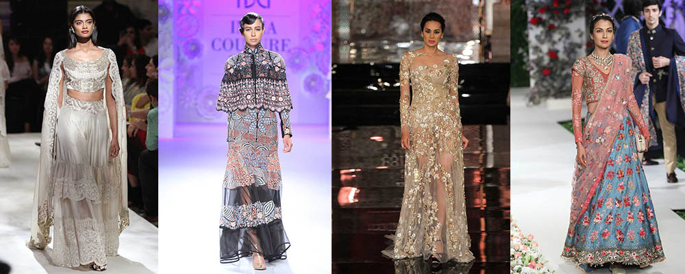 Top 10 2016 Fashion Trends From India Couture Week Posherry