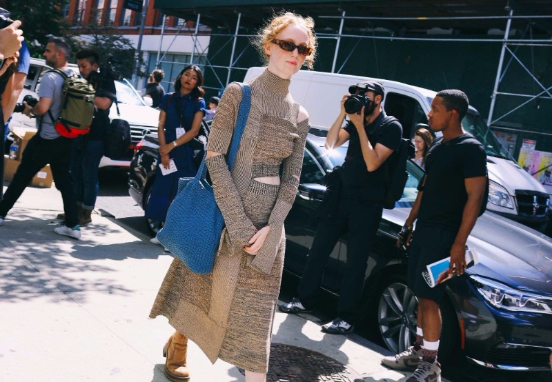 Street Style Fashion From New York Fashion Week SS17