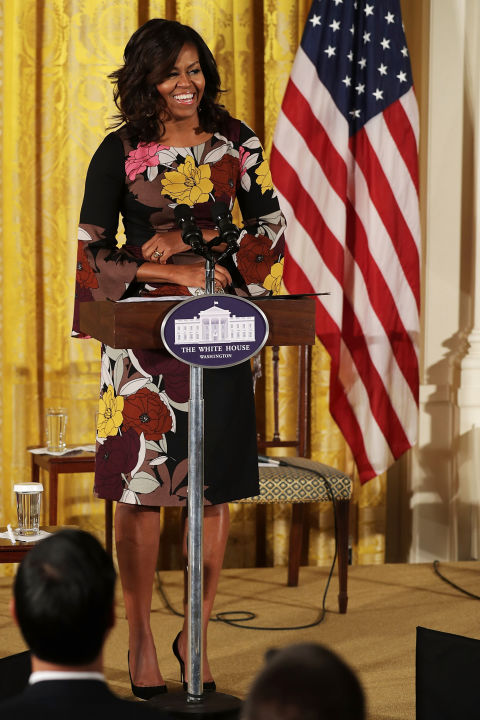 First Lady Michelle Obama - Addressing Veterans' homelessness in the White House