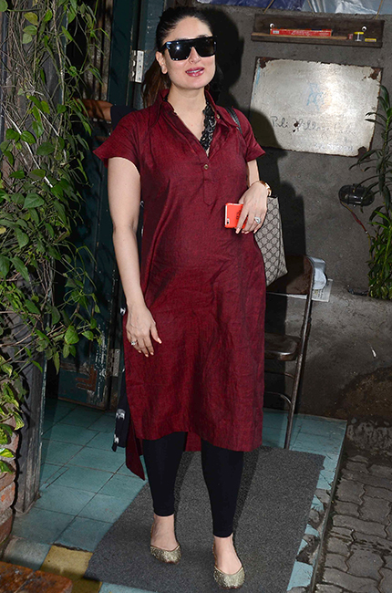 Kareena Kapoor Khan spotted in Chola