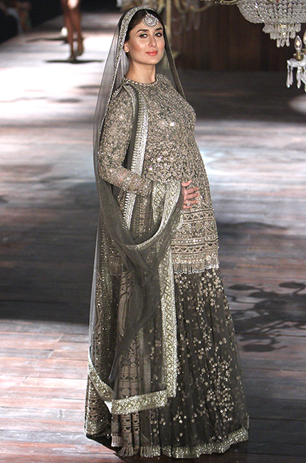 Kareena Kapoor Khan walked the Sabyasachi runway pregnant