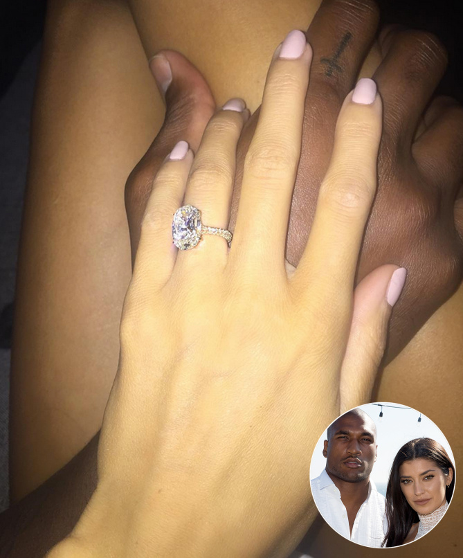 Best Celebrity Engagement Rings - Nicole Williams