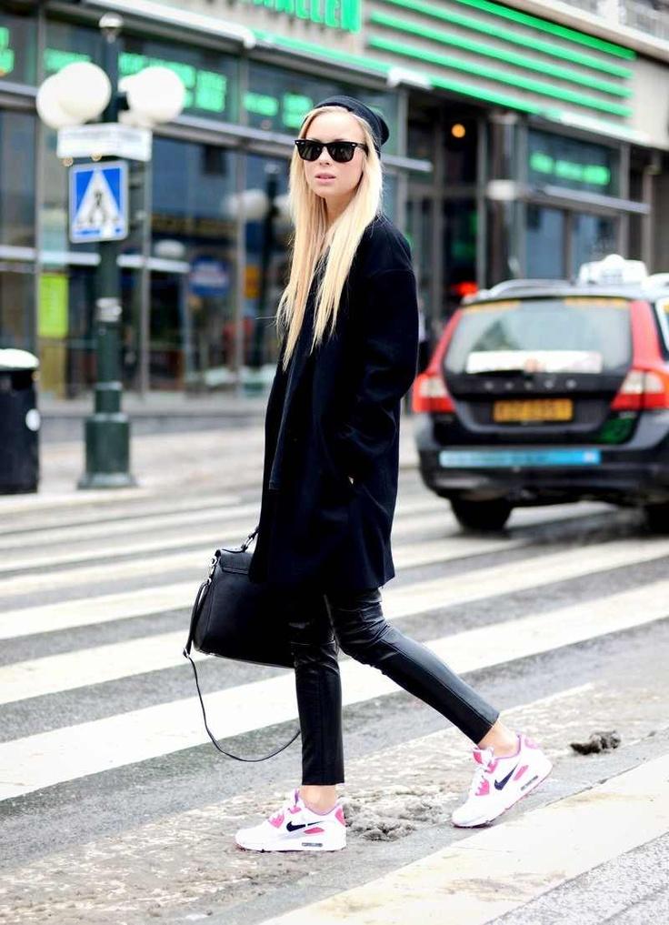nike sneakers street style